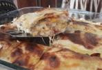 لازانيا بالخضار والجبنة