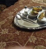 البطاطس المحشية بجبنة الشيدر والجبنة السائلة