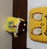 كعكة سبونج برب