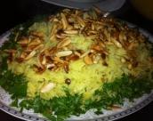 ارز بسمتي بالزعفران