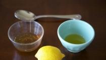 تحضير ماسك الليمون وزيت الزيتون للبشرة