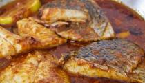 سمك السلمون المشوي