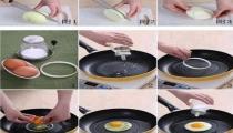 فكرة جميلة لقلي البيض