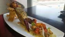 اصداف البحر(موليم) بصلصة الزبدة والثوم