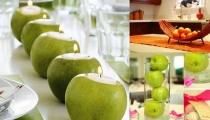 استفيدي من التفاح في تزيين البيت
