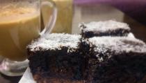 كعكة الشوكولاطه والنوتيلا