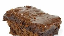 كعكة الشوكولاتة السهلة