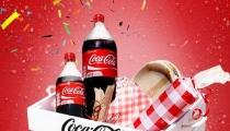 كوكا-كولا تحتفل بالأحجام الجديدة من خلال فعالية تحدي مثيرة على صفحة الفيسبوك