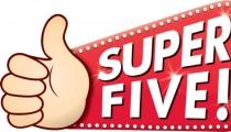حملات SUPER FIVE هذا الاسبوع