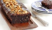 كعكة شوكولاطة، موز وشوفان (كويكر)