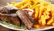 شرائح اللحم بوصفة شهية