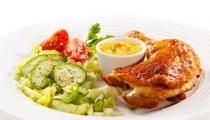 دجاج بصلصة الخردل