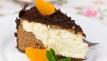 كعكة شوكولاتة بثلاث طبقات