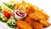 دجاج مقرمش بسعرات حرارية أقل