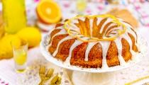 كعكة الليمون اللذيذة